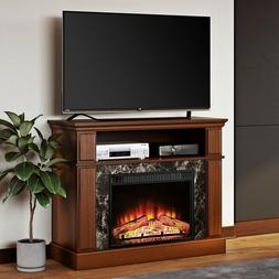 tv stand entertainment center media electric fireplace