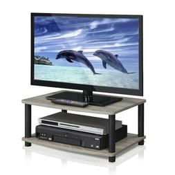 TV Stand Entertainment Center Modern Small Wood End Coffee T