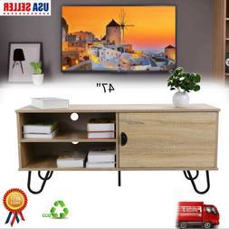TV Stand Entertainment Furniture Cabinet Home Shelf Telescop