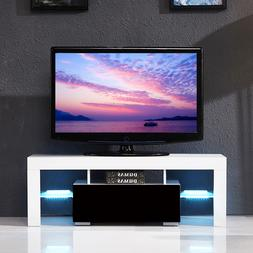 Alpha Conception TV Stand High Gloss LED Shelves TV Stand Co