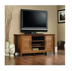 TV Stand Entertainment Media Center Sauder Milled Cherry Con