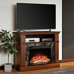 "TV Stand Media Fireplace 50"" Electric Heater Entertainment S"