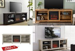 TV Stand Media Fireplace Electric Heater Choose Color For TV