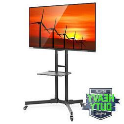TV Stand Mobile Cart Mount Wheels for Plasma, LED, Flat Scre