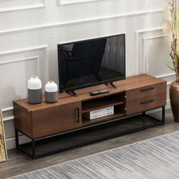 TV Stand Multifunctional Wooden Storage Unit TV Cable Box Ga