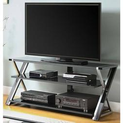 TV Stand Storage for TVs up to 70 inches with 3 Display Opti