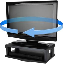 Trenton Gifts TV Swivel Stand | Supports Up to 250 Lbs | Bla