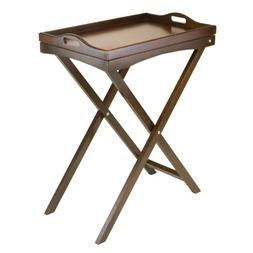 TV Table with Serving Tray