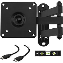 Cattail TV LCD Monitor Wall Mount Bracket With Full Motion S