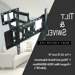 TV Wall Mount Swivel Tilt Bracket 32 37 39 40 42 46 49 50 55