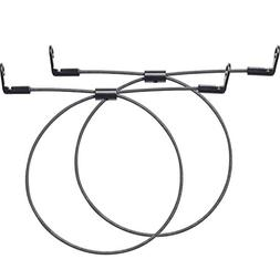 WALI Anti-Tip Heavy Duty Solid Steel Cable for Baby Safety P
