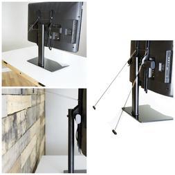 Universal Anti Tip Strap Free Standing TV Stand Mounts Steel