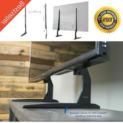 VIVO Universal LCD Flat Screen TV Table Top Stand Base fits