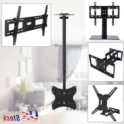 Universal LCD Flat Screen TV Table Top Stand/Base Wall Mount