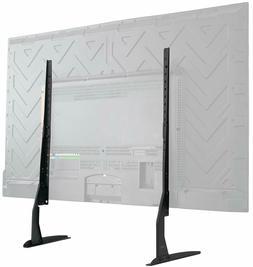Universal LCD Flat Screen TV Table Top VESA Mount Stand Blac
