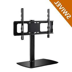 Rfiver Universal Swivel Tabletop TV Stand with Mount for 32