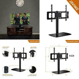 universal swivel tabletop tv stand with mount