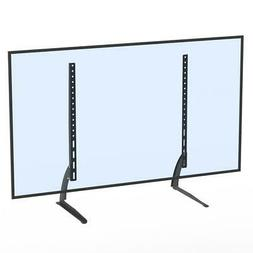 "Universal Table Top TV Stand Base Mount for 24- 65"" Height A"