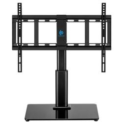 HUANUO Universal Tabletop Swivel TV Stand for 32 to 60 inch