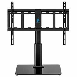 "HUANUO Universal Tabletop Swivel TV Stand for 32"" to 60"" LCD"