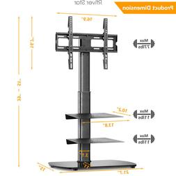 Universal TV Floor Stand with Swivel Mount for 27 32 37 42 4