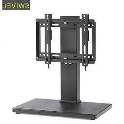 TAVR Universal Swivel Tabletop TV Stand with Mount for up to