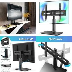 Fitueyes Universal Tv Stand/Base Tabletop Tv Stand With Swiv