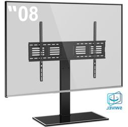 Universal TV Stand with Swivel Mount for 50 to 80 inch TV He