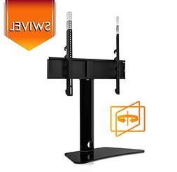 Mount-It! Universal Swivel TV Stand, Swiveling Height Adjust