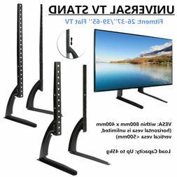 Universal TV Tabletop Stand Bracket TV Pedestal Mount Base F