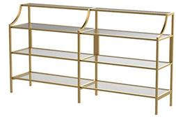 Better Homes and Gardens Versatile Gold Finish Nola Console