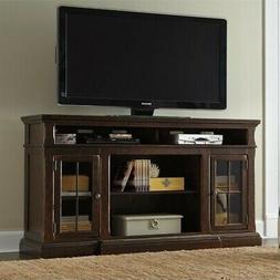 "Signature Design by Ashley W701-88 74"" TV Stand - Dark Brown"