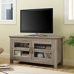 "WE Furniture 44"" Coronado TV Stand Console - Driftwood"