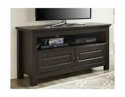 Walker Edison 44 inches Cortez TV Stand Console, Espresso