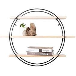 Wall-Mounted Rack Nordic Modern Minimalist Solid Wood Wall S