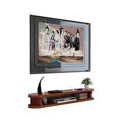 Shelf Wall Mount Bookshelf Wall TV Cabinet Set Top Box Livin