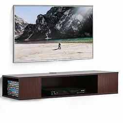 Fitueyes Wall Mount Media Console Entertainment Center TV St