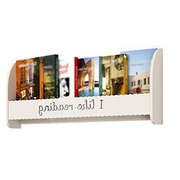 Storage Rack Wall-mounted shelf/Punch-free bookshelf/Simple