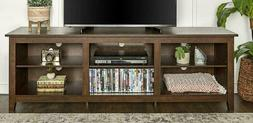 We Furniture Az70Csptb Tv Stand Traditional Brown