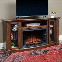 "Wellsley Cabinet Cherry & 33"" Infrared Firebox - CS-33MM-CHR"