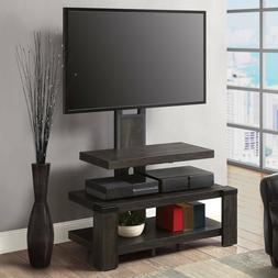 Whalen 3-Shelf Television Stand with Floater Mount for TVs u