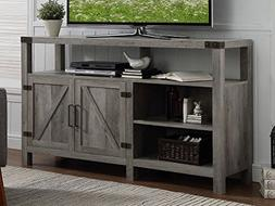Home Accent Furnishings New 58 Inch Wide Barndoor Highboy Te