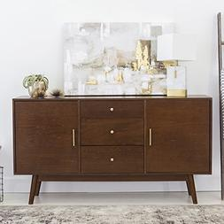 New 60 Inch Wide Mid-Century Modern Television Stand in Waln