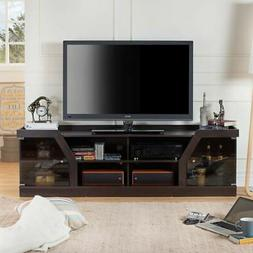 Wide TV Stands For Flat Screens Large Entertainment Center M