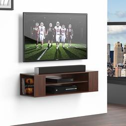 Collection TV Stand with Drawers Floating Wall Theater Enter