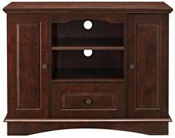 "Walker Edison Wood 42"" Highboy TV Stand"
