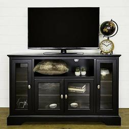 "Walker Edison Wood 52"" Highboy TV Stand"