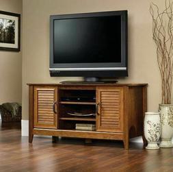 "Wood Panel 47"" TV Stand, 5-Shelves 2-Doors Entertainment Cen"