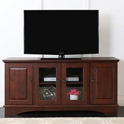 "Walker Edison Wood 52"" TV Stand"
