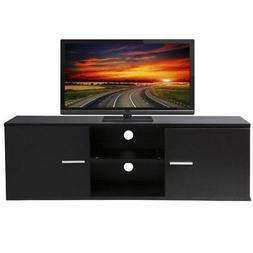 Wood TV Stand Storage Console, TV Component Bench, Econ Ente